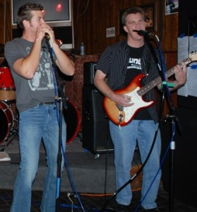 Brian & Rob performing with 18j